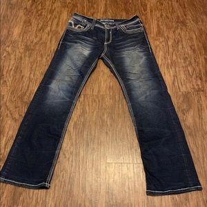 Men's affliction jeans 32x33